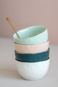 UNC Good Morning Bowl (Celadon), Good Morning Bowl (Old Pink), Good Morning Bowl (Blue Green), Good Morning Bowl (Morning White), Spoon fun