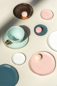Good Morning plate Small (Old Pink), Good Morning plate Small (Blue Green), Good Morning plate (Morning White, Good Morning plate (Celadon), Good Morning plate (Old Pink), Good Morning plate Small (Morning White), Good Morning plate (Blue Green), Good Morning Cup (Celadon)