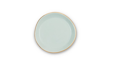 GOOD MORNING PLATE SMALL - CELADON