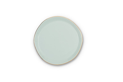 UNC Good Morning Plate - Celadon