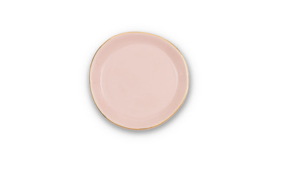 UNC Good Morning Plate Small - Old Pink