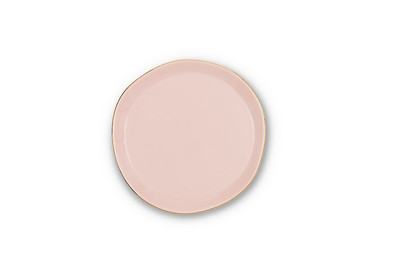 GOOD MORNING PLATE - OLD PINK