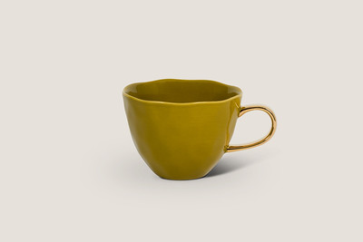GOOD MORNING CUP - AMBER GREEN