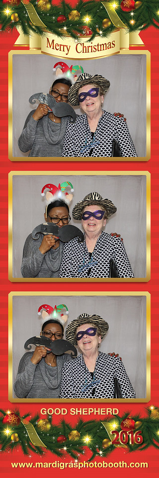 Photo Strips from Good Shepherd Christmas Party 2016