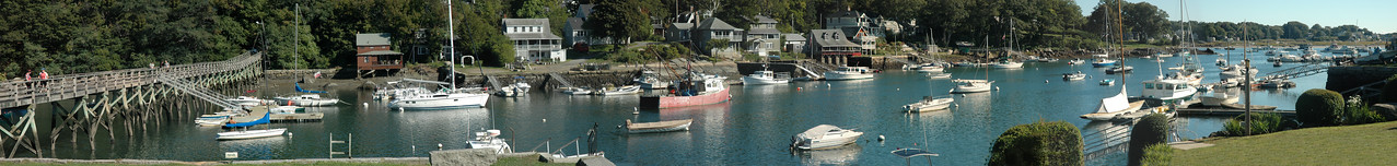 Gloucester MA - Annisquam Harbor Panorama