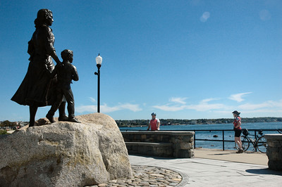 Gloucester MA - Fishermen's Wives Memorial