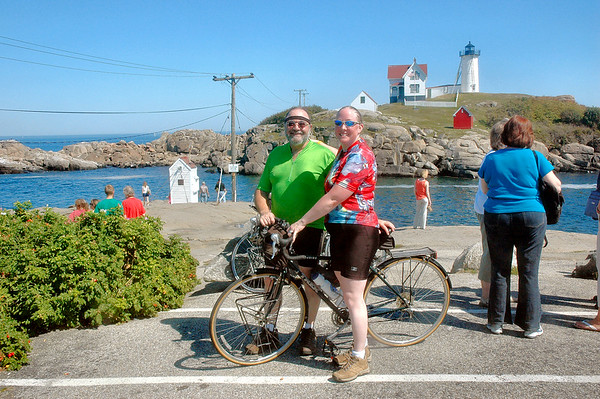 Cape Neddick ME - 8/29/2010 - Nubble Light - Tony and Judy