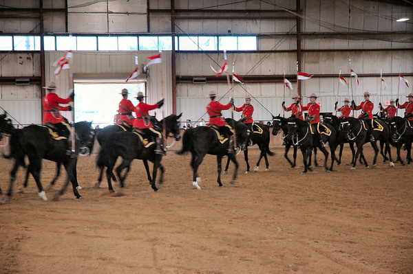 Topsfield Fair  Royal Canadian Mounted Police Musical Ride