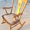 Beautiful Smaller Profile Rocker in Excellent Condition.  23 x 29 x 34.  <b>$125</b>