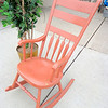 Painted Rocker in Very Good Condition.  21 x 30 x 40.  <b>$75</b>