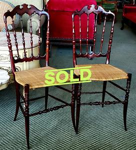 Italian Chiavari Chairs