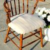 Solid Wood Retro Chair.  24 x 17 x 31.  <b>$40</b>