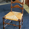 Spindle Leg Ladder Back Chair