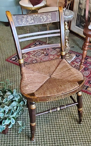 Hitchcock Style Chair