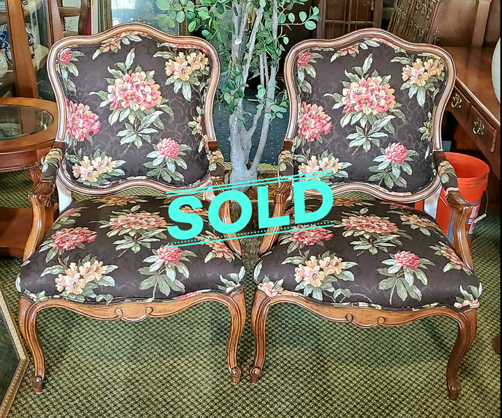 French Fauteuil Armchairs