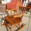 Traditional Solid Wood Rocking Chair.  22 x 35 x 43.  <b>$85</b>