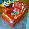 Red Leather Lawyer's Chair