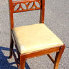 Solid Wood Accent Chair.  17 x 19 x 33.  <b>$40</b>
