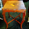 Vintage Solid Wood Display Table.  17 x 17 x 26.  <b>$65</b>