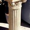Impressive Solid Cement Roman Column Display Pedestal.  12 x 12 x 30.  <b>$150</b>