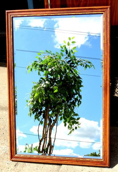 Beautiful Beveled Wall Mirror.  25 x 38.  <b>$40</b>