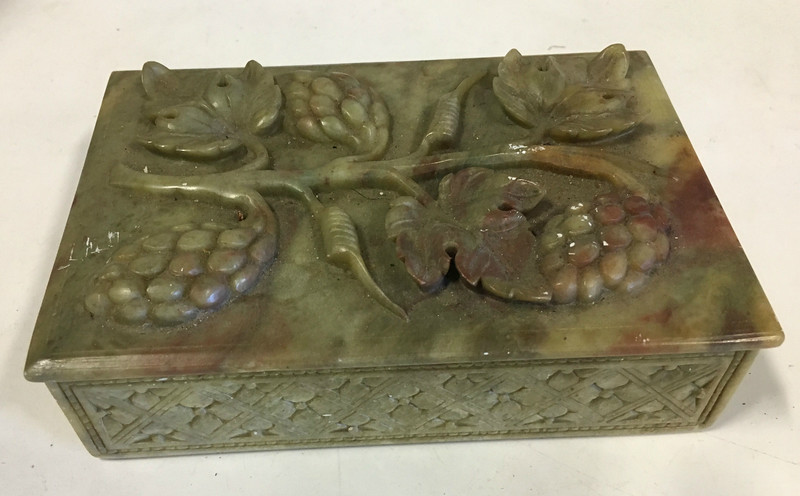 Ming-Dynasty Jade Chinese Box