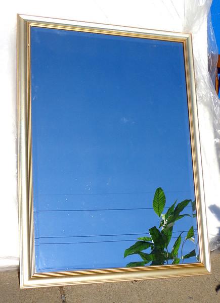Elegant Framed Wall Mirrors.  41 x 56.  <b>$65</b>