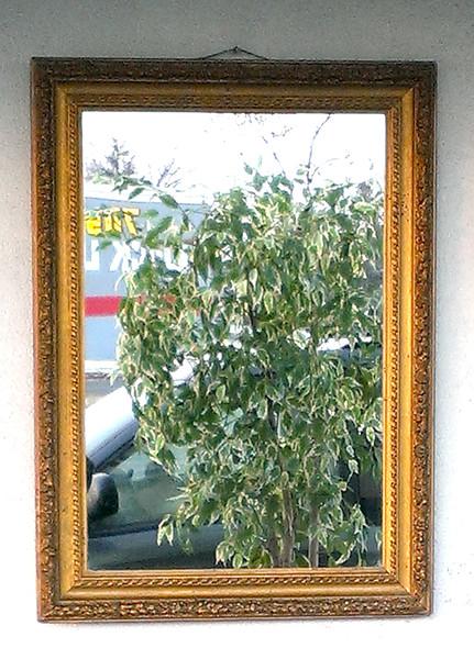 Elegant Antique Mirror in Very Good Condition.  23 1/2 x 32.  <b>$125</b>