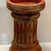 Attractive Roman Column Clay Pot Or Display Stand.  11 1/2 x 17 1/2.  <b>$40</b>