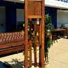 Antique Mission Oak Grandfather Clock.  19 x 15 x 81.  <b>$295</b>