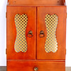Solid Wood Wall Cabinet.  18 x 7 x 24.  <b>$65</b>