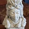 Buddhist Lady Head Bust