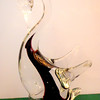 Highly Acclaimed Murano Glass Swan.  4 x 6.  <b>$25</b>
