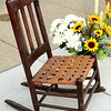 Antique Solid Wood Mini-Rocker.   17 x 26 x 33.  <b>$95</b>