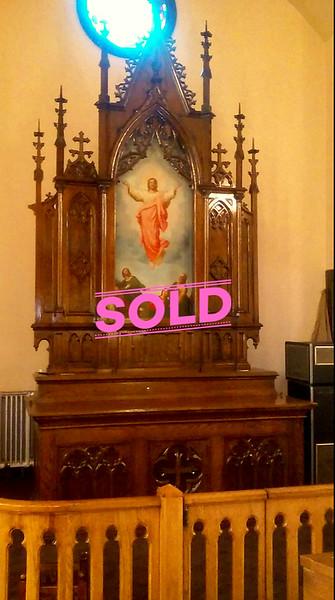 Gothic Church Altar