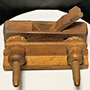 Antique Wooden Plough Plow Plane