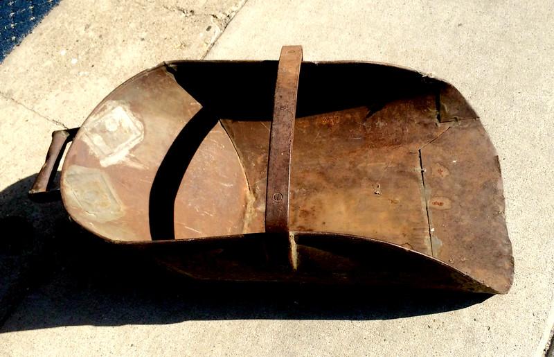 Antique Metal Coal Shovel.  34 x 15 x 10.  <b>$95</b>