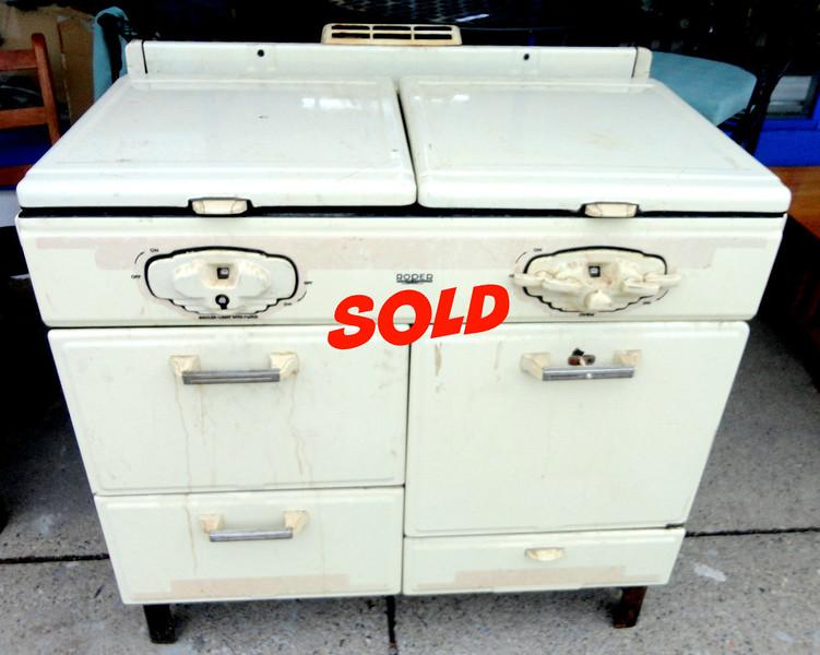 Antique 40's Era Roper Stove.  <b>$350</b>
