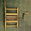 Antique Clothes Wringer.  17 x 27.  <b>$65</b>