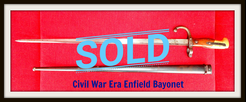 Civil War Bayonet