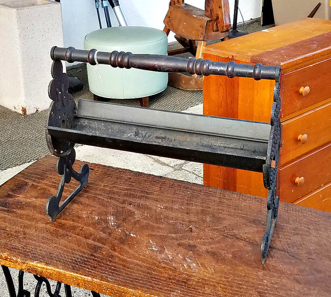 Antique Firewood Carrier