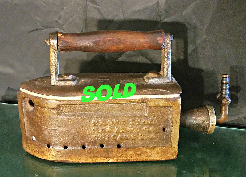 Antique Gas Iron