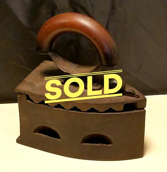 Antique Coal Iron