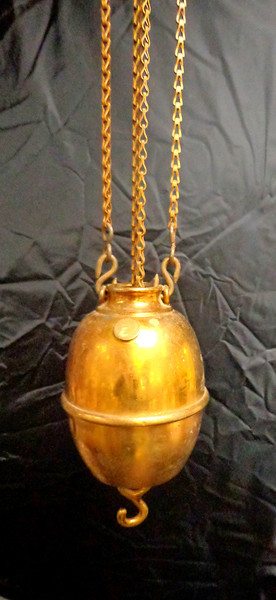 Antique Brass Pulley in Very Good Condition. <b>$65</b>
