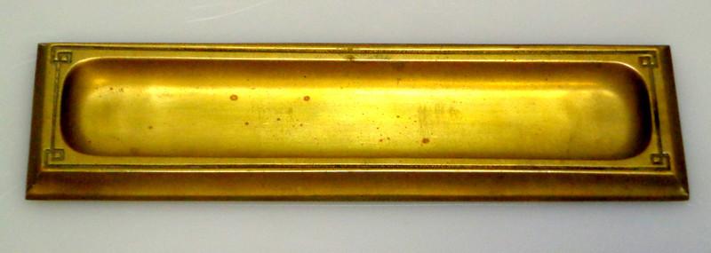 Antique Bradley & Hubbard Pen Tray.  9.75 x 2.5.  <b>$35</b>