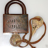 Antique Chicago Padlock with Keys.  <b>$45</b>