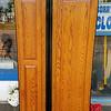 Wood Tone Side by Side Refrigerator