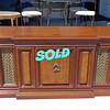Vintage Fisher 24RX S-695 Stereo Cabinet in Excellent Condition. (No electronic components inside - speakers only).  Cabinet is in excellent condition.  68 x 22 x 27.  <b></b>