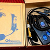 ACB Amplifier & Headset, GN Netcom Part # 732-4100-02.  These are in like-new condition in the original box. All units are sold in original boxes as shown in the photograph.  <b>$10</b>