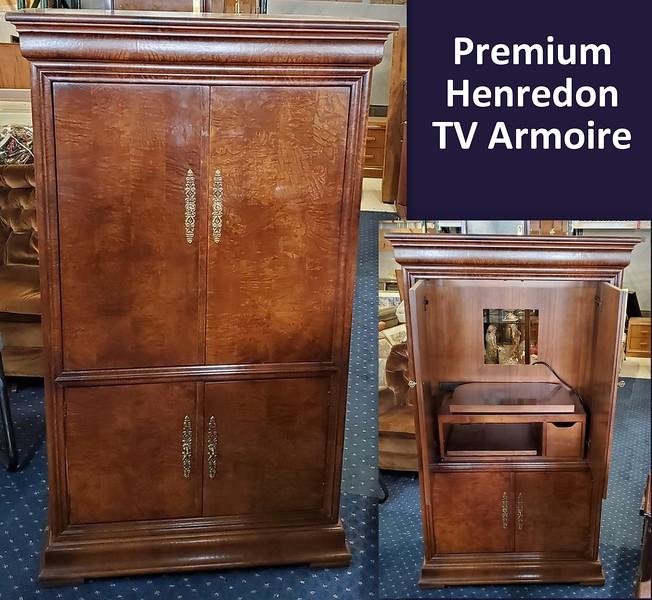Henredon TV Armoire